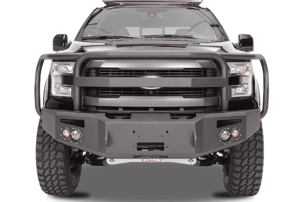 Fab Fours FF09-H1950-1 Front Bumper Ford F150 2009-2014 with Full Guard Premium