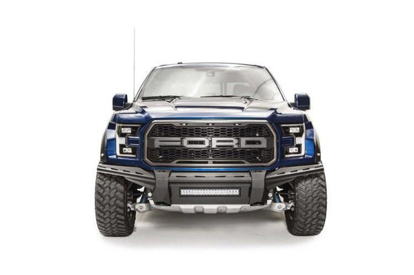 Fab Fours FF17-D4371-1 Ford F150 Raptor 2017-2020 Aero Front Bumper No Guard