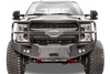 Fab Fours FS08-A1950-1 Front Bumper Ford F450/F550 Superduty 2008-2010 Winch Ready with Full Guard Premium