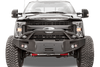Fab Fours FS08-A1952-1 Front Bumper Ford F450/F550 Superduty 2008-2010 Winch Ready with Pre-Runner Guard Premium