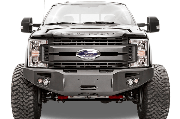 Fab Fours FS17-A4251-1 Front Bumper Ford F450/F550 Superduty 2017-2018 Winch Ready No Guard Premium