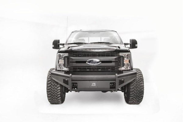 Fab Fours Ford F250/F350 Superduty 2017 Front Bumper No Guard with Tow Hooks FS17-Q4161-1