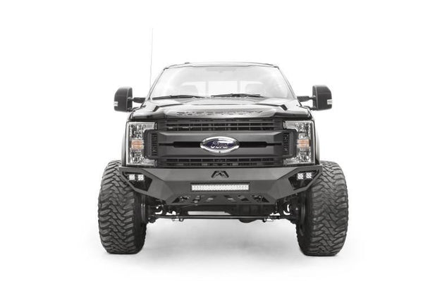 Fab Fours Vengeance Front Bumper Ford F450/F550 Superduty FS17-V4251-1 2017-2018 No Guard