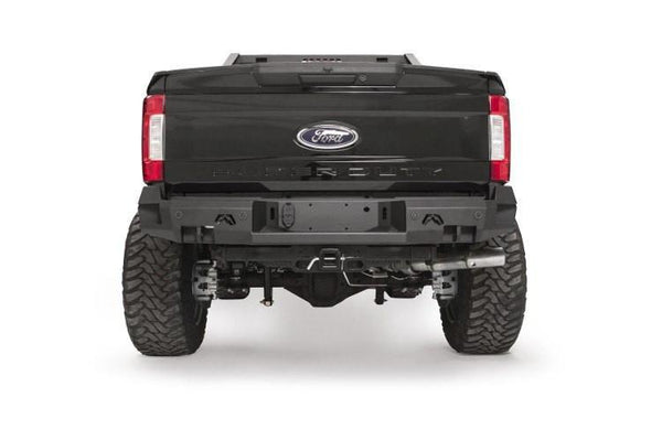 Fab Fours Ford F250/F350 Superduty 2017-2018 Rear Bumper with Sensor FS17-W4151-1