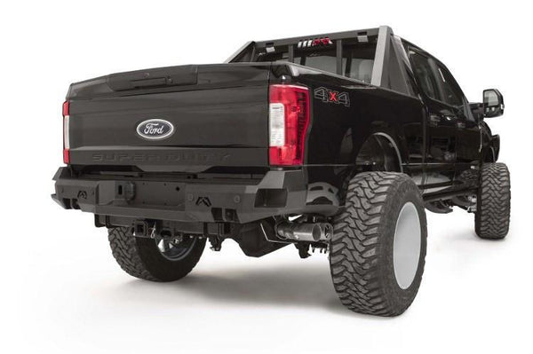 Fab Fours Ford F250/F350 Superduty 2017 Rear Bumper with Sensor FS17-W4151-1