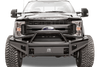 Fab Fours FS99-Q1662-1 Front Bumper Ford F250/F350 Superduty 1999-2004 Pre-Runner Guard with Tow Hooks Black Steel Elite