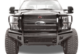Fab Fours FS99-S1660-1 Ford F250/F350 Superduty 1999-2004 Black Steel Front Bumper with Full Guard