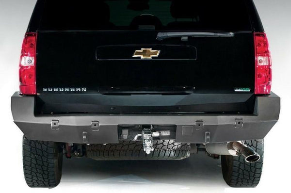 Fab Fours Chevy Tahoe and Suburban 2007-2014 Rear Bumper with Backup Sensors CS07-W2241-1