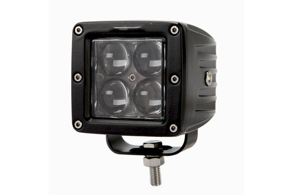 AUXBEAM Pair 3''-4'' 20W LED Philips Square Cube Fog Light Spotlight - BumperOnly