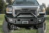 Lod Offroad Signature Front Bumper GMC Sierra 2500/3500 2015-2018 Heavy Duty Winch Sensor Ready With Bull Bar Guard GFB1002