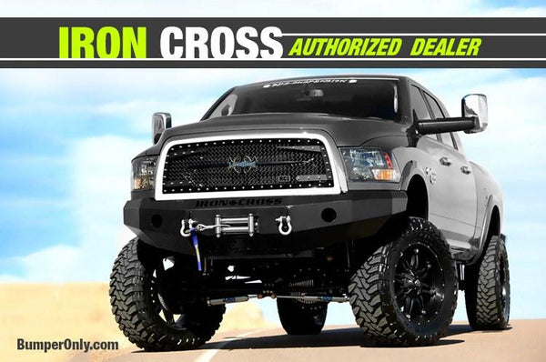 Iron Cross 10-16 Dodge Ram 2500/3500 (Except Power Wagon) Front Bumper 20-625-10 - BumperOnly