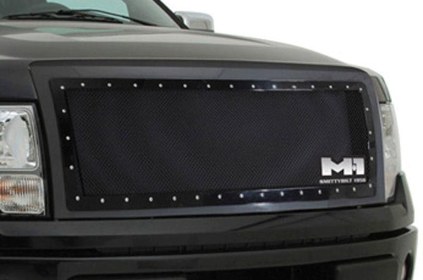 2007-2015 Smittybilt Jeep JK Wrangler Unlimited 615850 M-1 Wire Mesh Grilles black - BumperOnly