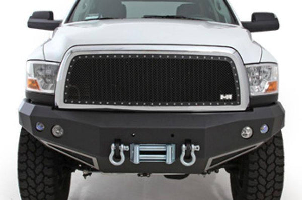 2008-2010 Smittybilt Chevy Silverado 2500 HD 615820 M-1 Wire Mesh Grilles black - BumperOnly