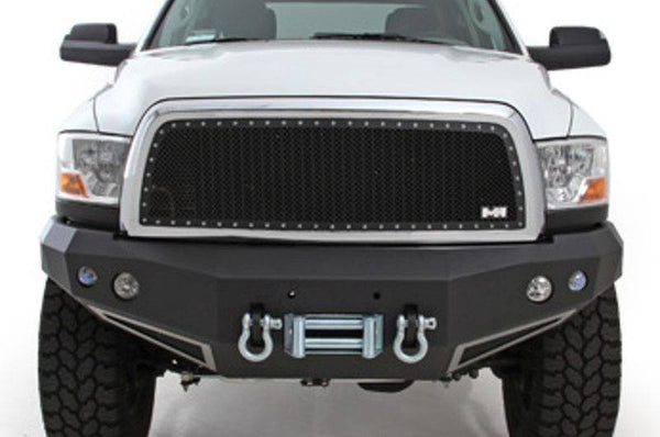 2009-2012 Smittybilt Dodge Ram 1500 615801 M-1 Wire Mesh Grilles black - BumperOnly
