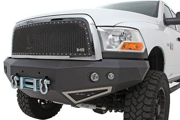 2014 Smittybilt Chevy Silverado 1500 612822 M-1 Front Bumper textured black - BumperOnly