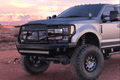 Ranch Hand MFF171BM1 2017-2020 Ford F250/ F350 Superduty Midnight Series Front Bumper With Grille Guard