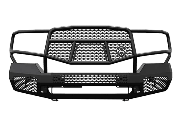 Ranch Hand MFG19HBM1 2019-2020 GMC Sierra 1500 Midnight Series Front Bumper With Grille Guard
