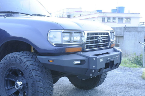 VPR 4x4 Ultima Truck Front Bumper Toyota Serie 80 Seris 1990-2007 PD092 - BumperOnly