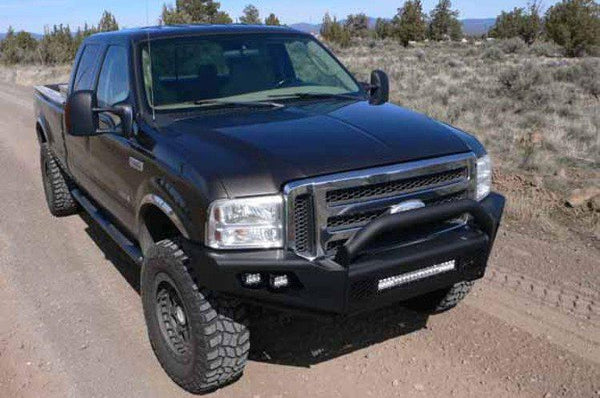 TrailReady 31005 Ford F250/F350 Superduty 1999-2004 Extreme Duty Front Bumper with Pre-Runner Guard - BumperOnly