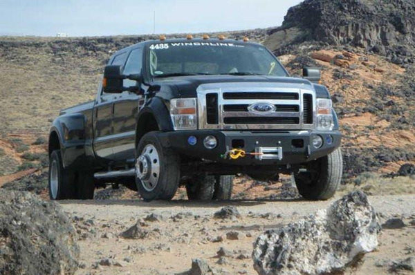 TrailReady 12322B Ford F450/F550 Superduty 2011-2016 Extreme Duty Front Bumper Winch Ready Base - BumperOnly