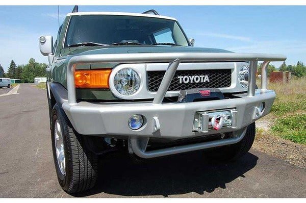 TrailReady PN3400G Toyota FJ Cruiser 2007-2013 Extreme Duty Front Bumper Winch Ready with Full Guard