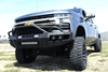 Iron Cross 62-525-20 Chevy Silverado 2500/3500 2020-2021 Hardline Front Bumper With Push Bar