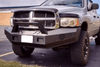 Thunder Struck Smooth Pre-Runner Dodge RAM 2500/3500 2019-2020 Front Bumper DHD19-FB SM PR PA