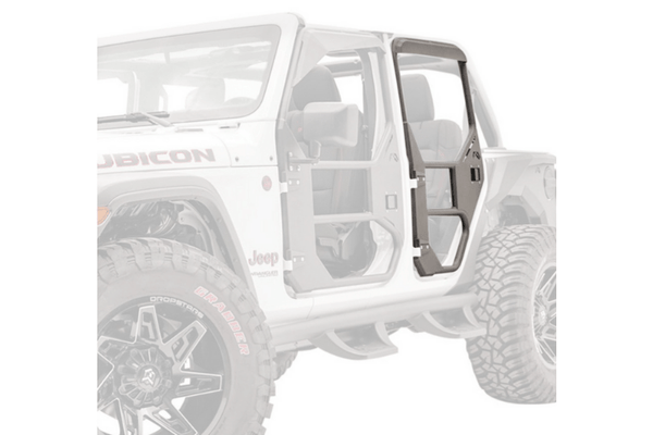 Fab Fours JL1031-1 Jeep Wrangler JL 2018-2020 Full Surround Rear Tube Door