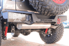 Iron Cross GP-2002 Jeep Wrangler JL 2018-2021  Rear Bumper Stubby/Without Sensor Holes No Swing Away Tire Carrier