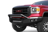 Road Armor 44074Z-NW 2006-2008 Dodge Ram 1500 Stealth Front Non-Winch Bumper Pre-Runner Style, Raw Finish and Round Fog Light Hole