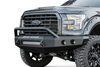 Road Armor 61104Z-NW 2011-2016 Ford F250/F350/F450 Superduty Stealth Front Non-Winch Bumper Pre-Runner Style, Raw Finish and Round Fog Light Hole