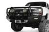 ARB 3462020 Chevy Silverado 2500/3500 2003-2006 Deluxe Front Bumper Winch Ready with Grille Guard, Black Powder Coat Finish