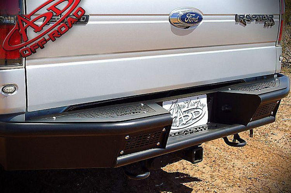 F150 SERIES STEALTH FIGHTER REAR BUMPER - BumperOnly