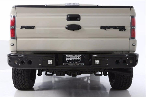 ADD R012251280103 2009 - 2014 Ford F-150 Venom Rear Bumper With Dually Light Mounts - BumperOnly