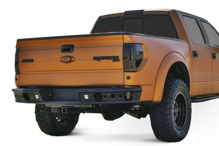 Add Dimple R Ford F150 Eco Boost 2010 2014 Rear Bumper With Backup