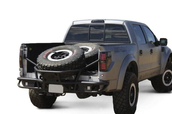 ADD R0149012801NA Ford SVT Raptor 2010-2014 Race Series Tc Rear Bumper with angled tire mount - BumperOnly