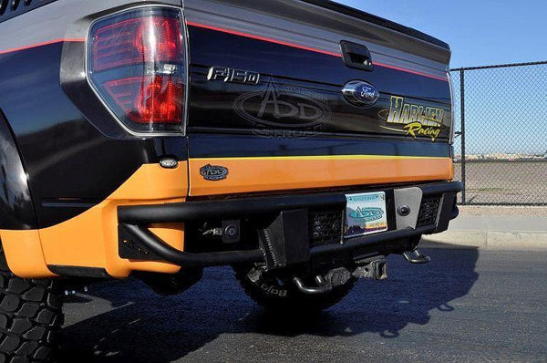 ADD R0149512801NA 2009 - 2014 Ford F-150 Race Series R Rear Bumper With Dually Light Mounts - BumperOnly