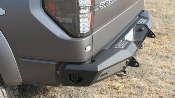 ADD F150 SERIES HONEYBADGER REAR BUMPER R017301280103 - BumperOnly