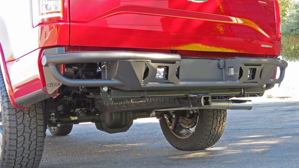 ADD R1549512801NA 2015 - 2017 Ford F-150 Race Series R Rear Bumper With Pair Of Dually Mounts - BumperOnly