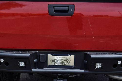 ADD R3023012801NA GMC Sierra 1500 2007.5-2013 Dimple R Rear Bumper W/ Light Mounts - BumperOnly