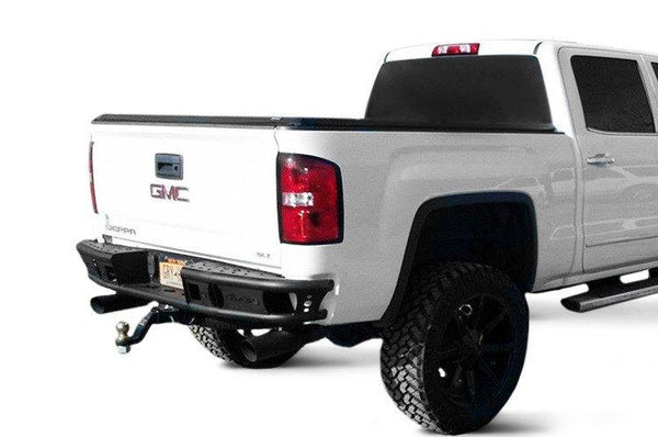 ADD R4223012801NA GMC Sierra 1500 2014-2018 Rear Bumper R4223012801NA W/ Light Mounts - BumperOnly