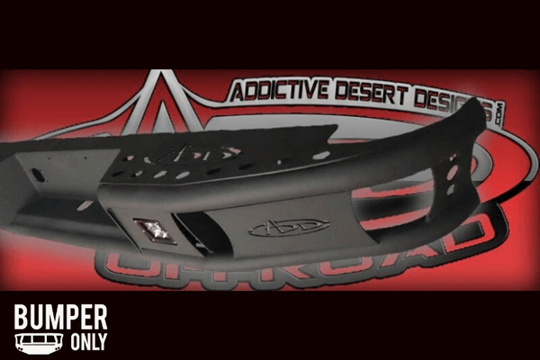 ADD R5323012801NA Dimple R 2003-2009 Dodge Ram 2500/3500 HD Rear Bumper with Dually Light Mounts