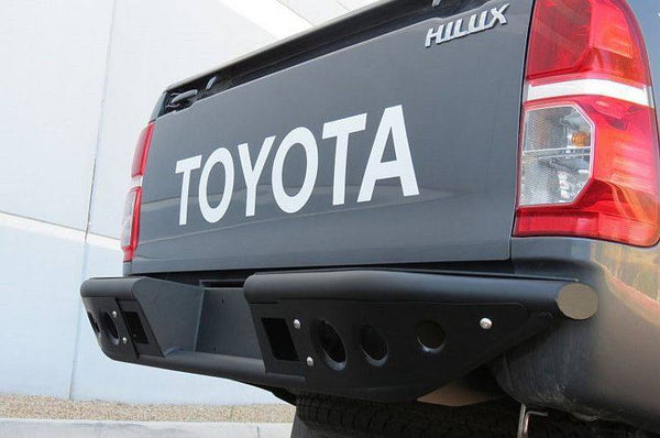 ADD R7932712801NA 2011 - 2014 Toyota Hilux Stealth Rear Bumper With Dually Light Mounts - BumperOnly
