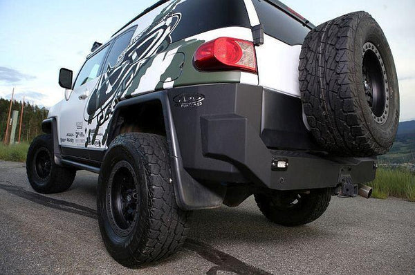 ADD R8017013401NA 2007 - 2014 Fj Cruiser Stealth Fighter Rear Bumper With Flush SRM Mount - BumperOnly