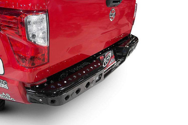 ADD R912161280103 Nissan Titan 2016-2017 Venom Rear Bumper W/ Backup Sensors - BumperOnly