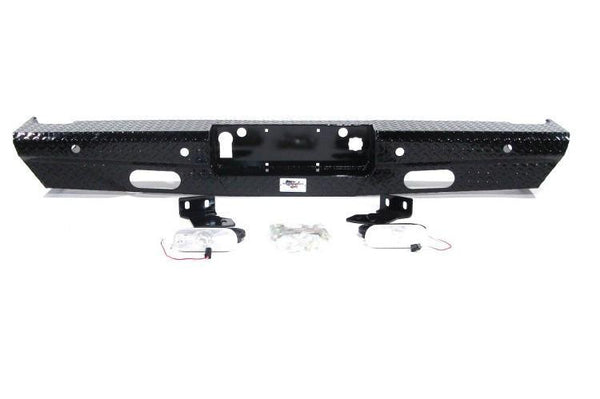 American Built GMC Sierra 2500/3500 2015-2017 Rear Bumper with Back-up Sensors RX223152