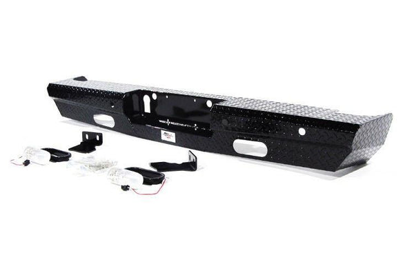 American Built Chevy Silverado 2500/3500 2015-2017 Rear Bumper with Back-up Sensors RX223152