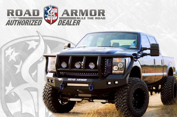 Road Armor Identity Ford F250/F350 Superduty Rear Bumper 2017-2018 6172DR-A0-P2-MD