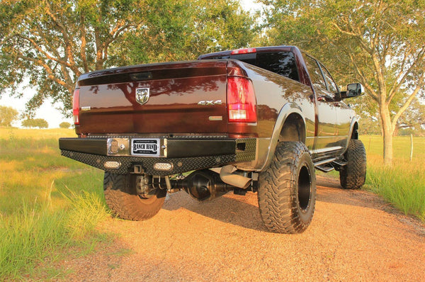 Ranch Hand SBD09HBLSL 2010-2018 Dodge Ram 2500/3500 Sport Series Back Bumper