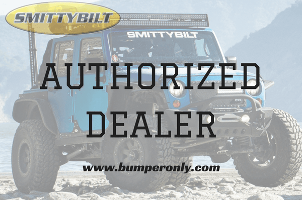 2010-2017 Smittybilt Dodge Ram 2500/3500 614802 M-1 Rear Bumper textured black - BumperOnly